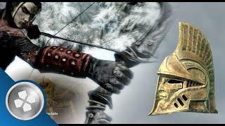 skyrim dragonborn black bow of fate vizage of mzund e companion rob