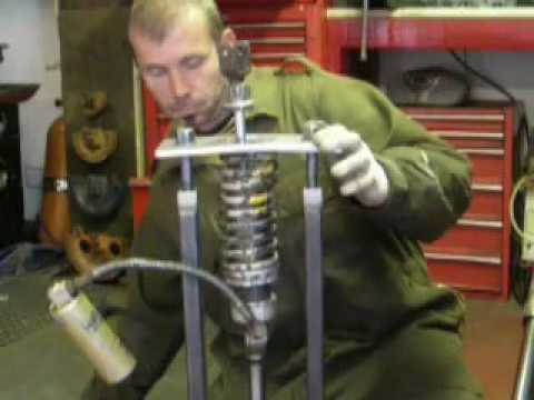 Make Your Own Car >> Shock spring compressor another home made tool - YouTube