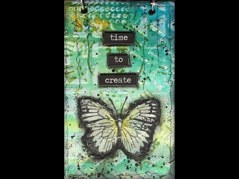 """Time to Create"" Mini Journal"