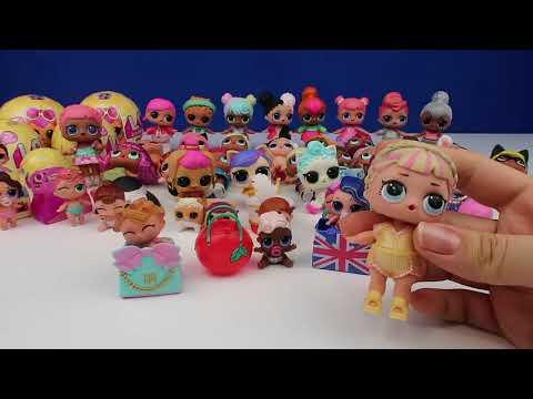 LOL Sürpriz Bebek Koleksiyonum Yenilendi #1 - 4 YENİ Sürpriz Bebek!!  #LOLBebekSürprizleri İZLE