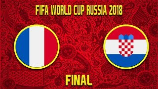 FIFA World Cup 2018 | France - Croatia | Final | CZ/SK