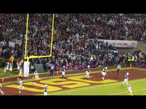 trojancandy.com:  Watch the 2017 Rose Bowl Tying Touchdown for USC