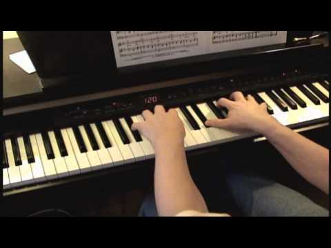 The Chipmunk Song - Christmas Don't Be Late - Piano