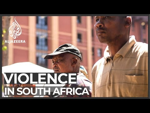 Five killed in attacks on foreigners as South Africa cracks down