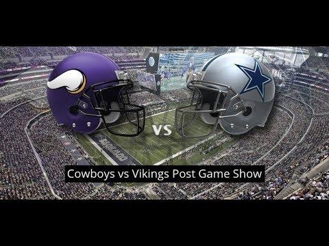 Dallas Cowboys Vs Minnesota Vikings Post Game Show || Call In: 515-606-5187 Access Code 309104