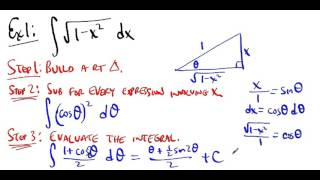 MATH222 Lesson 13 Trig Substitution