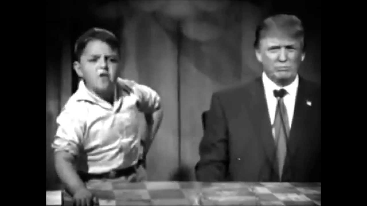 liz wilde show little rascals nominate donald trump youtube