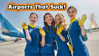 Top 10 WORST airports in the United States. The Fixed version.