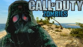 "DESERTED ISLAND ZOMBIES! - Call of Duty Zombies ""RED SAND"" Custom Map (Custom Zombies)"