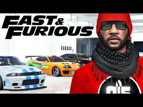 GTA 5 Online | Fast And Furious Garage Tours