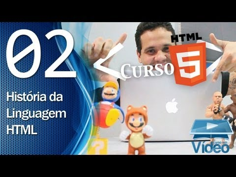 Curso de HTML5 - 02 - História da HTML - by Gustavo Guanabara