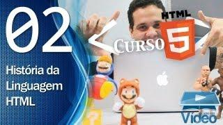 Curso de HTML5 - 02 - História da HTML - by Gustavo Guanabara thumbnail