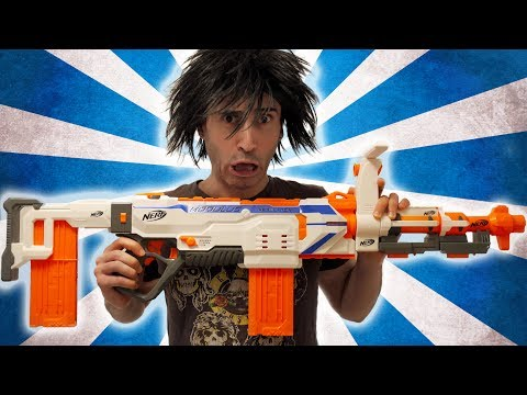 NERF WAR: THE BIG GUN!