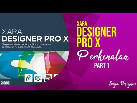 Perkenalan Xara Designer Part 1 - Xara Designer Pro X
