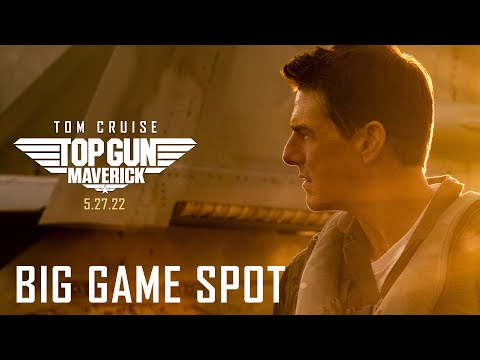 Top Gun: Maverick (2021) – Big Game Spot – Paramount Pictures