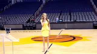 Mariah Larronde AZ DECA FLC National Anthem