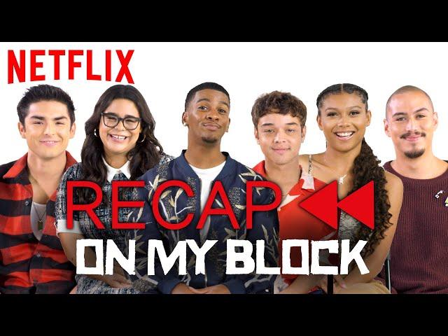 Get Ready for On My Block Season 3! Official Cast Recap - Season 1 & 2 | Netflix