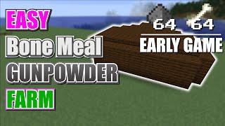 EASY AFK BONE MEAL / GUNPOWDER FARM | EARLY GAME