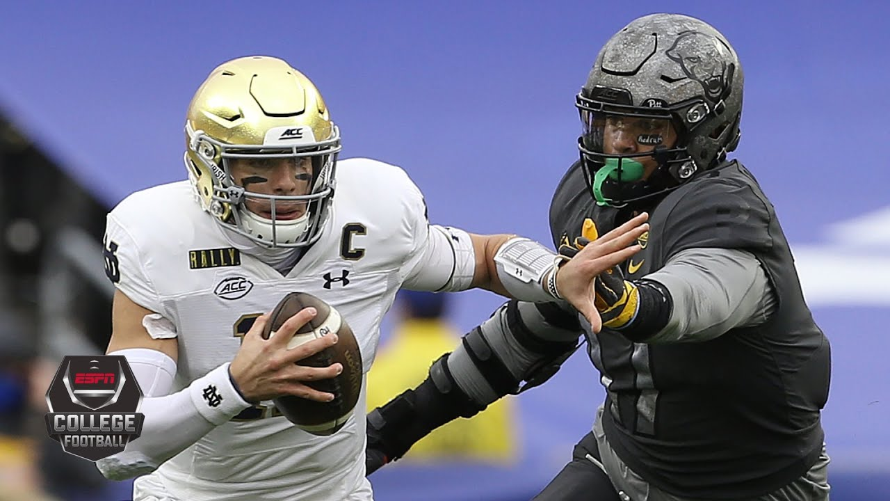 Notre Dame Fighting Irish vs. Pittsburgh Panthers   2020 College Football Highlights