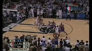 Derek Fisher 0.4 Game Winning Shot