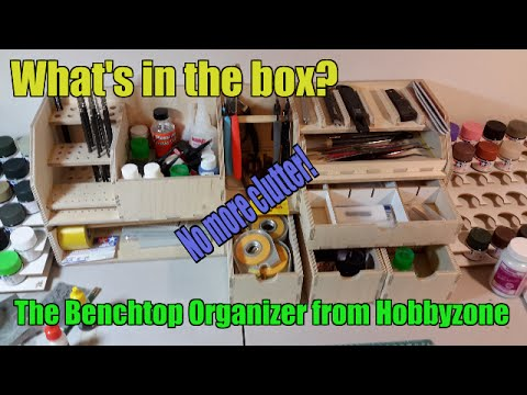 What S In The Box The Benchtop Organizer From Hobbyzone