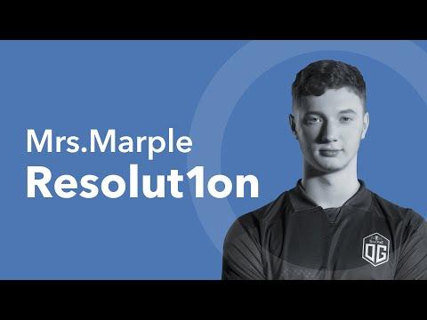 Mrs. Marple | Resolut1on: «Пока ты не играешь – другой играет, и он будет лучше тебя».