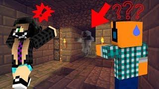 """Minecraft AQUA #17 - """"Tajemnicze przejście w katakumbach!"""""""