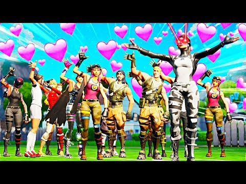 Playing fortnite with my subscribers....lol