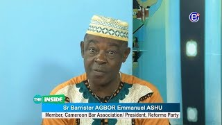 THE INSIDE (Guest: BARRISTER AGBOR Emmanuel ASHU ) APRIL 28th 2019 - EQUINOXE TV