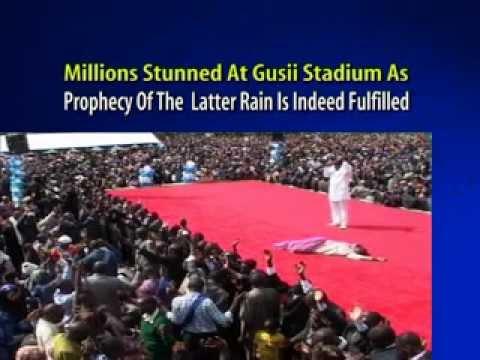 SHOCKING: Prophet Dr. Owuor Calls Down Rain From Heaven & It Rains