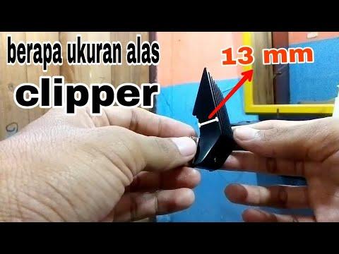 Ukuran Alas Atau Sepatu Clipper Youtube