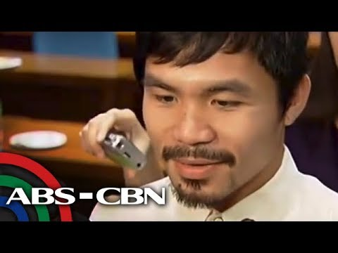Pacquiao Reacts To Krista's Wedding Plans
