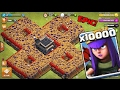 10000 Queen Attack in Clash Of Clans OMG | Will she survive?