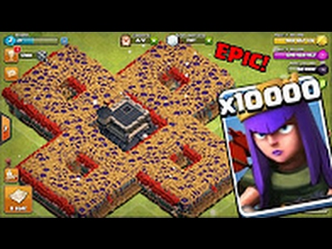 Thumbnail: 10000 Queen Attack in Clash Of Clans OMG | Will she survive?