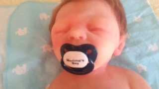 How to Put a Pacifier in a Silicone Baby Reborn