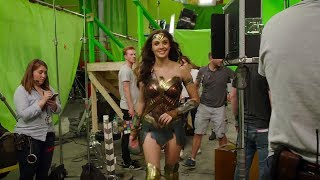 Wonder Woman Behind the Scenes(BTS) & Bloopers - Gal Gadot - 2017