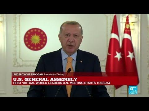 REPLAY: Turkey President Recep Tayyip Erdogan's speech at UN General Assembly