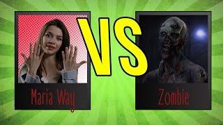 Блогеры против Зомби. Masha Way