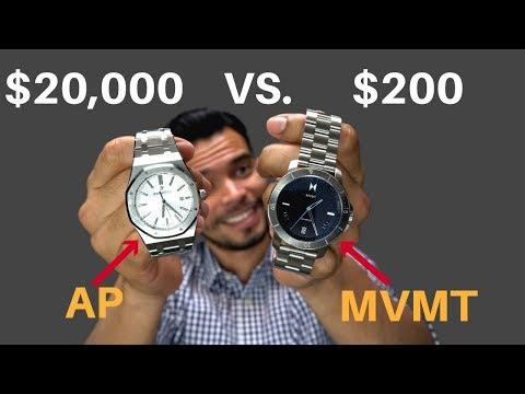 Reloj De $200 vs $20,000