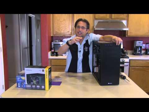 HP 110-210 Desktop Computer Review Part 3 (2014 Workstation Computer Build)