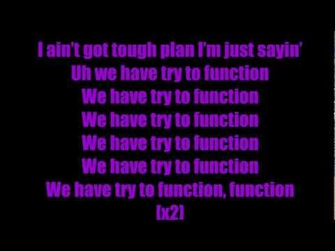E-40 Function Lyrics