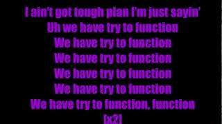 E-40 Function Lyrics