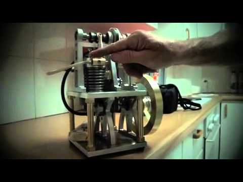 My homemade 4 stroke petrol engine