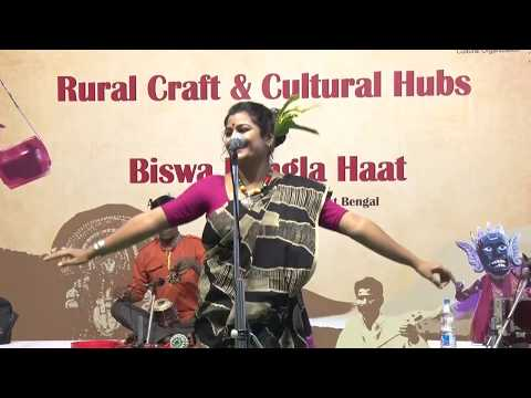 Kalo jole kuchla tole by Arpita Chakraborty at Biswa Bangla Haat on 18th Dec 2016