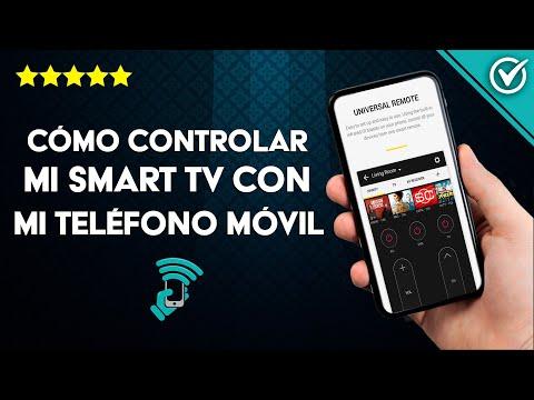 Cómo Controlar mi Smart TV LG, Samsung, Sony y Philips con mi Teléfono Celular