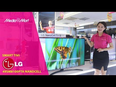 Smart Tivi LED LG 4K 49 inch 49SM8100PTA NanoCell - Màu sắc thuần khiết
