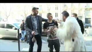 Pio e Amedeo con Verratti e Sirigu