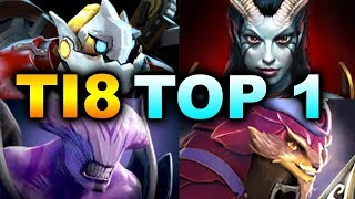 TOP 1 BEST - MOST EPIC GAME OF TI8 - OPTIC IMMORTALS DOTA 2