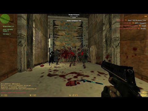 Counter-Strike: Zombie Escape Mod - ze_Egypt on ProGaming (1080p - 60FPS)