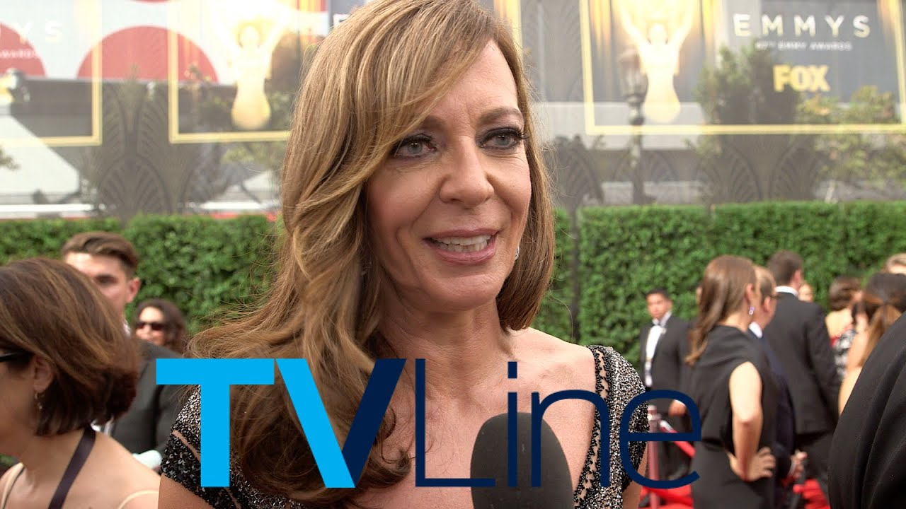"Allison Janney Nudography allison janney ""mom"" interview at emmys 2015 - tvline"